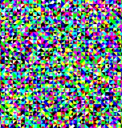 Triangles colorful noise pattern vector