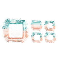 abstract trendy template with gradient backgrounds vector image vector image