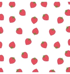 Background of strawberries isolated icon design vector