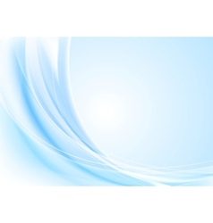 Bright waves background Gradient mesh and blend vector image vector image