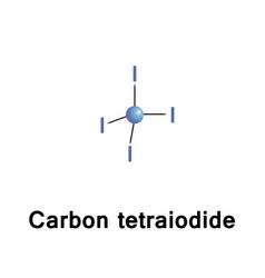 Carbon tetraiodide is a tetrahalomethane vector