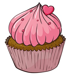 Cupcake vector image vector image