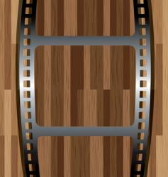 film wood vector image vector image