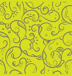 Floral iznik pattern vector