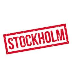 Stockholm rubber stamp vector