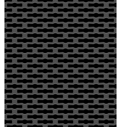 Metal grid seamless pattern vector