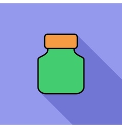 Jar icon vector