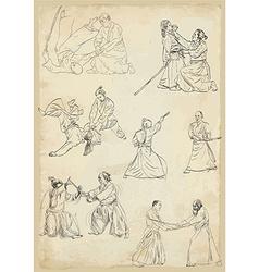 Aikido - collection vector