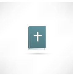 Bible book icon vector image vector image