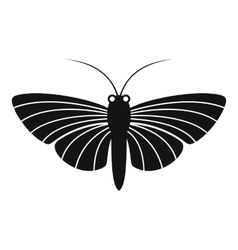 Butterfly with small wings icon simple style vector