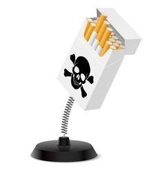 Deadly souvenir vector image vector image