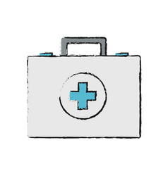 first aid icon vector image