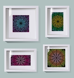 frames in different sizes vector image vector image