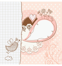 Scrap-booking elements decor vector