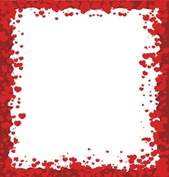 Valentines day border vector