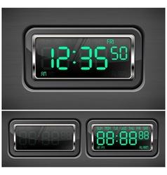 Digital watch vector
