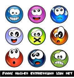 comic expressions vector image