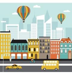 City street vector