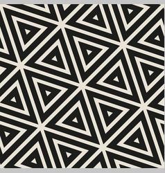 Stylish minimalistic triangle shape lines grid vector
