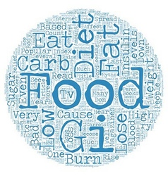 Why Low Carb Diets Are Bad For Weight Loss text vector image vector image