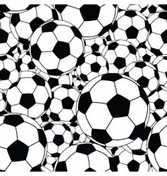 Soccer ball tile vector