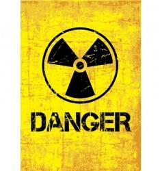 danger backround vector image vector image