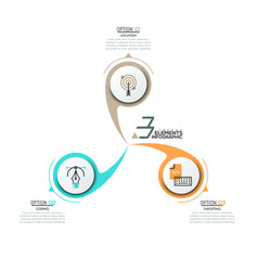Infographic design layout vector
