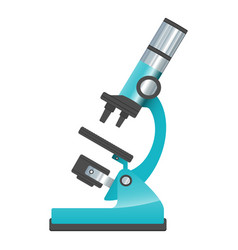 microscope isolated on a white vector image
