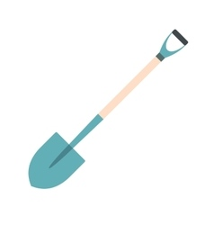 Shovel for working in the garden vector
