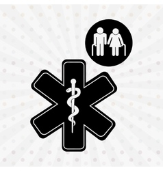 Family healthcare design vector