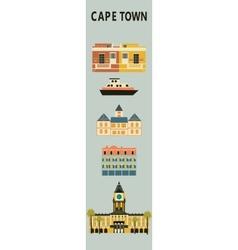 Cape town vector