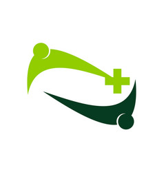 health care union vector image vector image