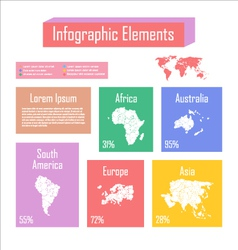 Infographic 12 vector image vector image