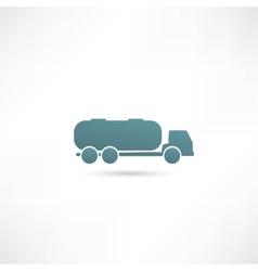 Tank truck vector image