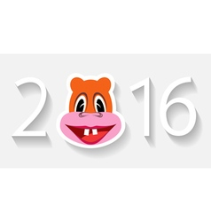 Monkey year vector