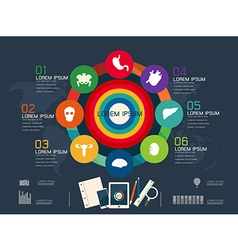 Circle for infographic vector