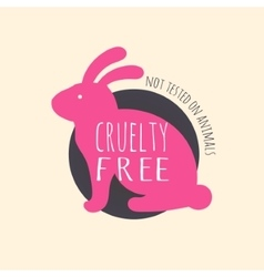 Stop cruelty eco-friendly badges vector