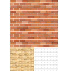 Brick pattern vector