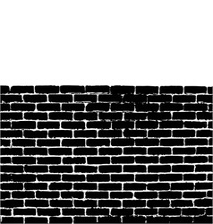 Brick wall vector