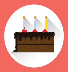 CAKE HBD vector image vector image