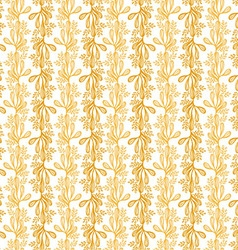 Drawing abstract Seamless Patterns with leaf vector image