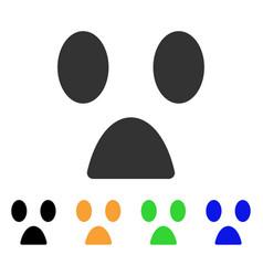 fear smile icon vector image
