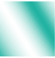 green dots on a white pop art background vector image vector image