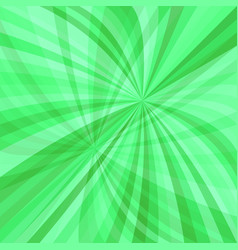 Green dynamic background - design from curved ray vector