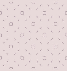 minimalist seamless pattern with small arrows vector image