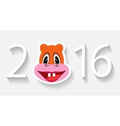 Monkey year vector image vector image