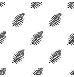 prehistoric plant icon in black style isolated on vector image vector image