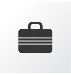 suitcase icon symbol premium quality isolated vector image vector image