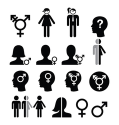 Transgender symbol gender dysphoria transsexual vector