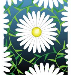 White flower vector